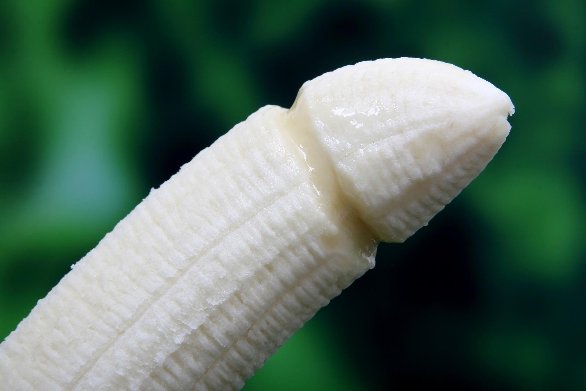 ペニスを模したバナナ
